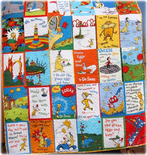 dr seuss baby quilt green eggs and ham the by carlenewestberg
