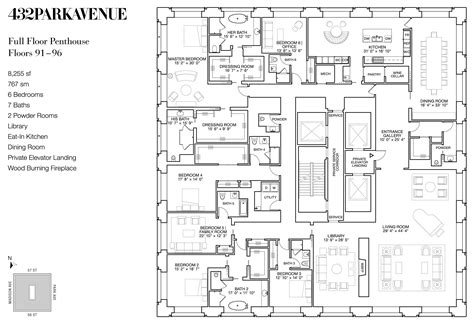 Draw House Plan glorious 432 park avenue skyscraper in new york usa