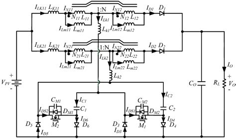 coupled inductor in power supply coupled inductor diagram 28 images energies free text a photovoltaic power system