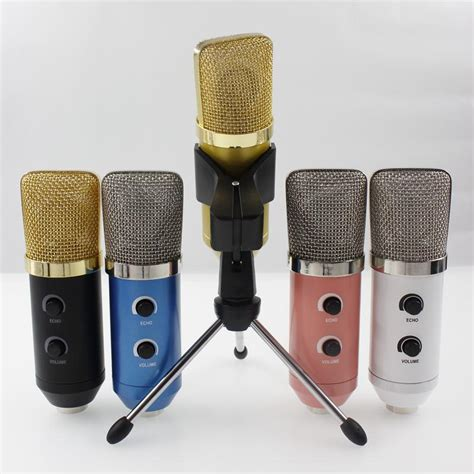 Speaker Fleco F K39 Wired Mic With Usb Tf Card Pla Limited 2017 mk f100tl usb condenser sound recording audio processing wired microphone with stand for