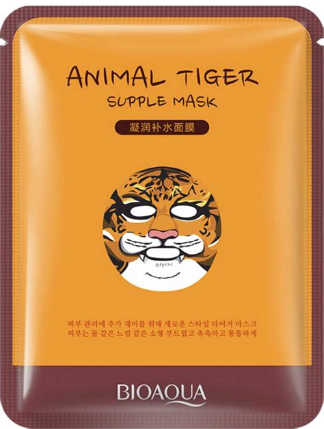 New Bioaqua Sheet Mask bioaqua animal tiger supple sheet mask