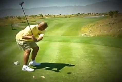 best golf swing for bad back the best worst of charles barkley s golf swing