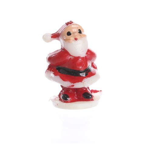 micro mini santa christmas miniatures dollhouse