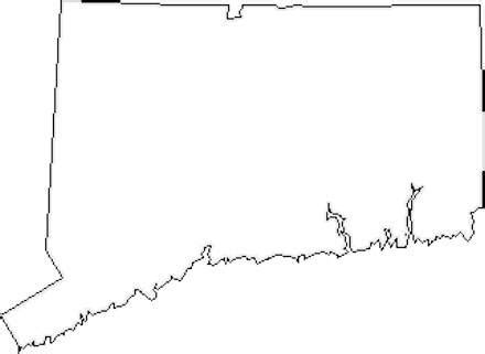 connecticut map coloring page plan your new england vacation outlines and tattoo