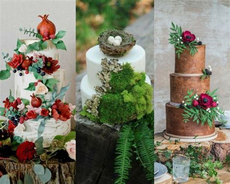 Idee Theme Mariage by D 233 Coration G 226 Teau Mariage 224 Th 232 Me Nature 40 Id 233 Es Pour