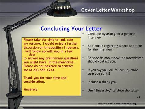 cover letter workshop rdrew cover letter workshop