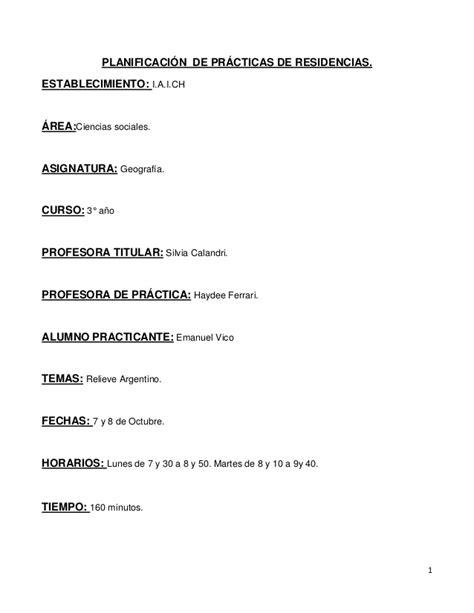 preguntas generales sobre geografia planificaci 243 n practicas relieve argentino