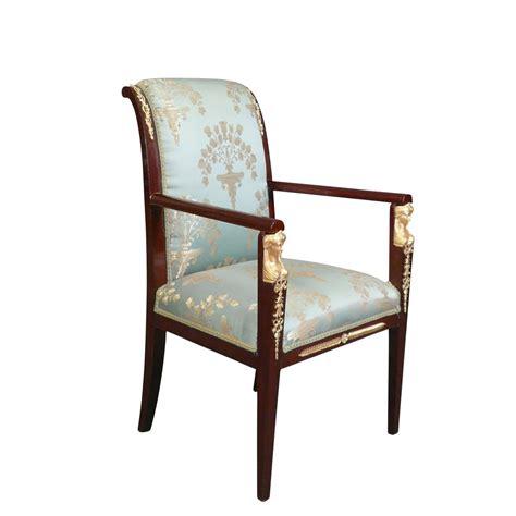 chaise empire fauteuil empire en acajou fauteuil louis xv et chaise
