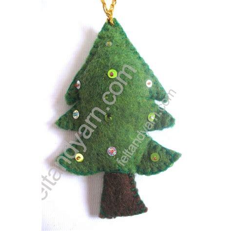 felt christmas tree handmade in nepal by nepalese women