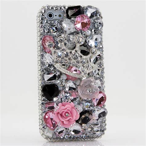 Hardcase Swarovski Iphone 5 5s 5 Se Blink2 Pink White bling crystals phone for iphone 6 6s iphone 6 6s