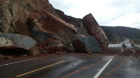 imagenes de tragedias naturales cierran tramo del libramiento por ca 237 da de rocas sobre la