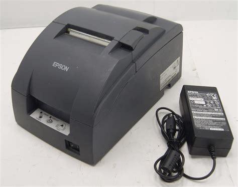 Printer Epson M188b lot 2 epson tm u220b m188b pos receipt printer ethernet port w oem a c adapter ebay