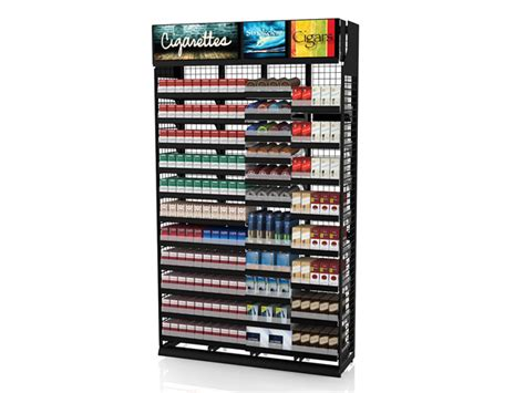 Cigarette Rack by Tobacco Display Configurations Tobacco Fixture