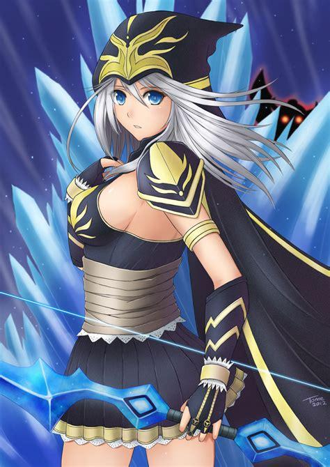 imagenes hot anime league of legends ashe by tonnelee deviantart com on