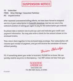 suspension notice the worthington post