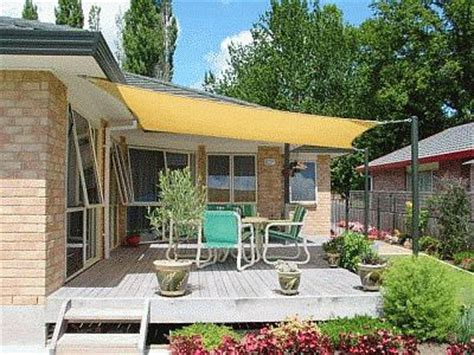 sun sail patio covers cover your outdoor space with shade sails the garden glove