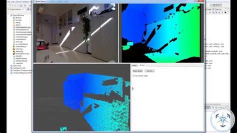 qt programming opengl kinect interface libfreenect and qt opengl widgets youtube