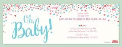 baby shower invitations evite
