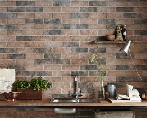 Interior Brick Wall Tiles by White Porcelain Tile Furnitureteams