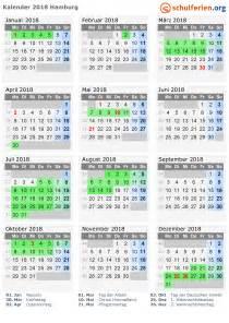 Kalender 2018 Ferien Feiertage Thüringen Kalender 2018 Ferien Hamburg Feiertage