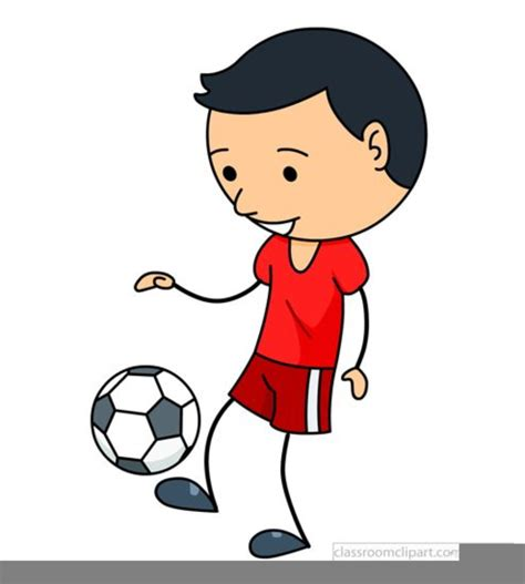 soccer clip boy soccer clipart free images at clker