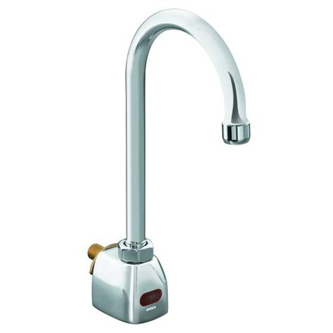 Battery Operated Faucets by Moen Ca8304 Commercial M Power Wall Mount Battery Powered
