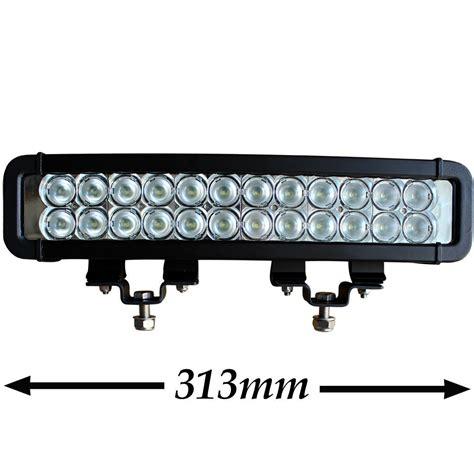 Stealth Led Light Bar Stealth 12 Inch 72w Light Bar 24 X 3w Cree Led 4x4 Auto Driving Bright Flood Ebay