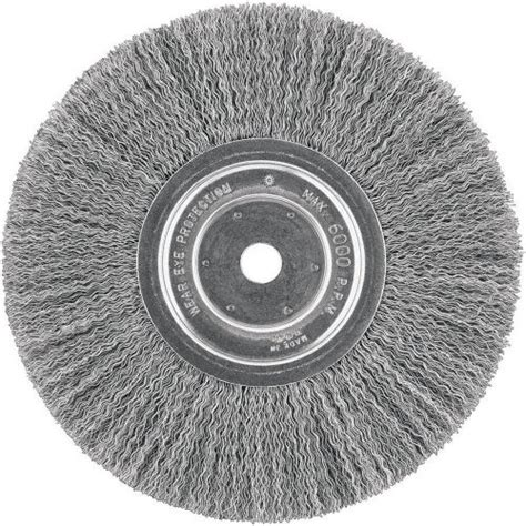 bench grinder brush wheel dewalt dw4904 6 quot crimped wire wheel bench grinder brush