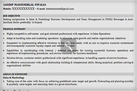 Resume Sles Naukri Sales Resume Sle Sle Resume For Sales Manager Naukri