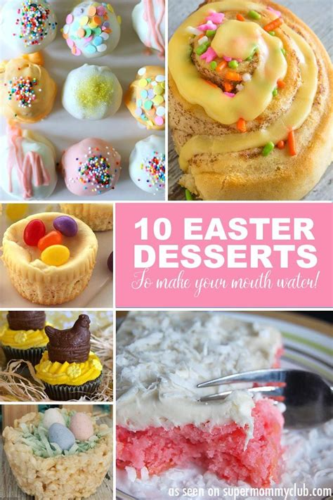 easy easter desserts easy easter dessert recipes almost too good to eat