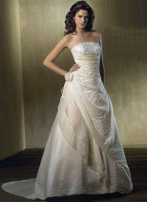 wedding dress i bought for my january 2011 afternoon wedding very simple bridal wedding gowns pictures