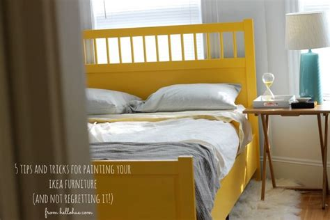 Hello Hue I Painted Our Ikea Bed Frame And Lived To Blog Hello Bed Frame