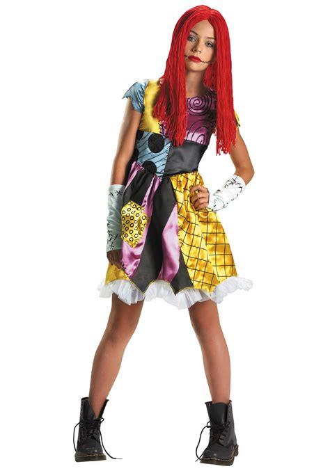 christmas costume ideas for teen girls tween sally costume