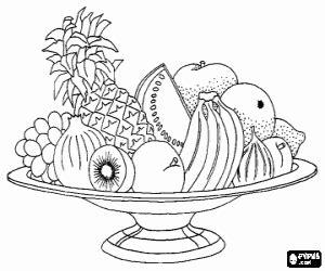 imagenes para colorear variadas juegos de frutas para colorear imprimir y pintar