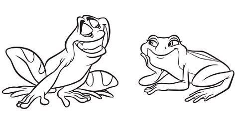 coloring page of princess and the frog disney princess and the frog coloring pages az coloring