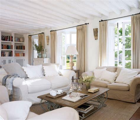 einrichtung wohnzimmer landhausstil im shabby chic und landhausstil einrichten tipps und ideen