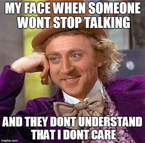 Talking Meme - creepy condescending wonka meme imgflip