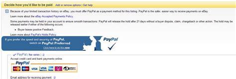 ebay payment methods ebay payment methods gummigranulat mikroplast