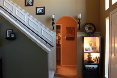 White Banister Rail Adding Moulding To Your Staircase Decor Guest Post