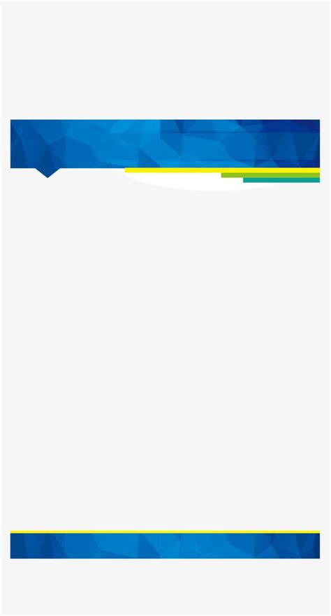 business card page template png business blue border vector png business affairs