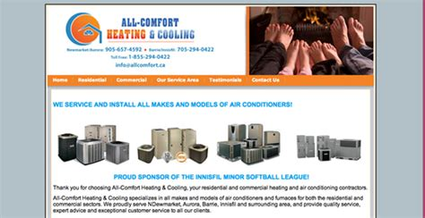 all comfort heating and cooling heating cooling in newmarket on all comfort heating and
