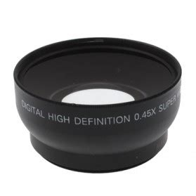 Dijual Lf412 Lensa Wide 52mm 0 45x Wide Angle Lens Uv Ck 78n wide angle lens with macro 0 45x 52mm for nikon d40 d60 d70s d3000 d3100 d5000 black