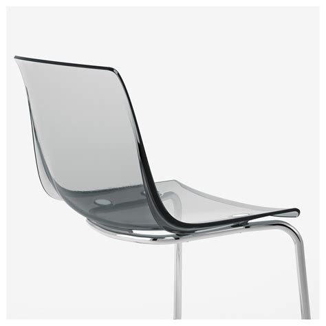 Tobias Chair by Tobias Chair Grey Chrome Plated