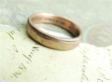 custom made rustic s wedding band in gold by