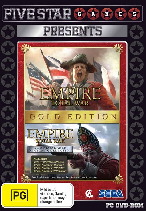 empire total war console empire total war gold edition pc the gamesmen