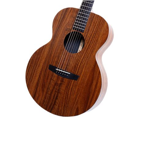 Koa Wood Pattern Hpl   enya ea x1 eq 41 inch koa patterned hpl wood full board