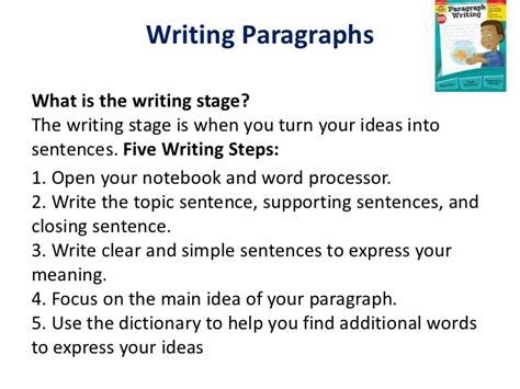 Focus On Writing Paragraphs And Essays by Paragraph Writing