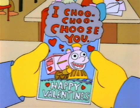 simpsons valentines day for s day everyone should the simpsons