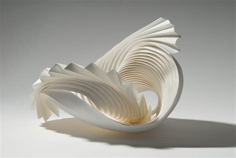 How To Make A Paper Sculpture - paper sculptures with no parallel richard sweeney