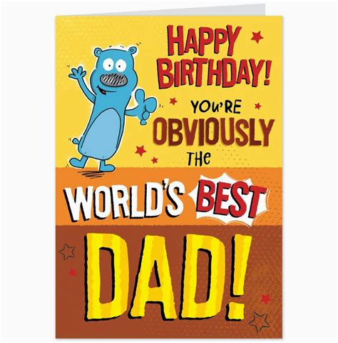 funny printable happy birthday dad cards happy birthday daddy quotes from kids www pixshark com